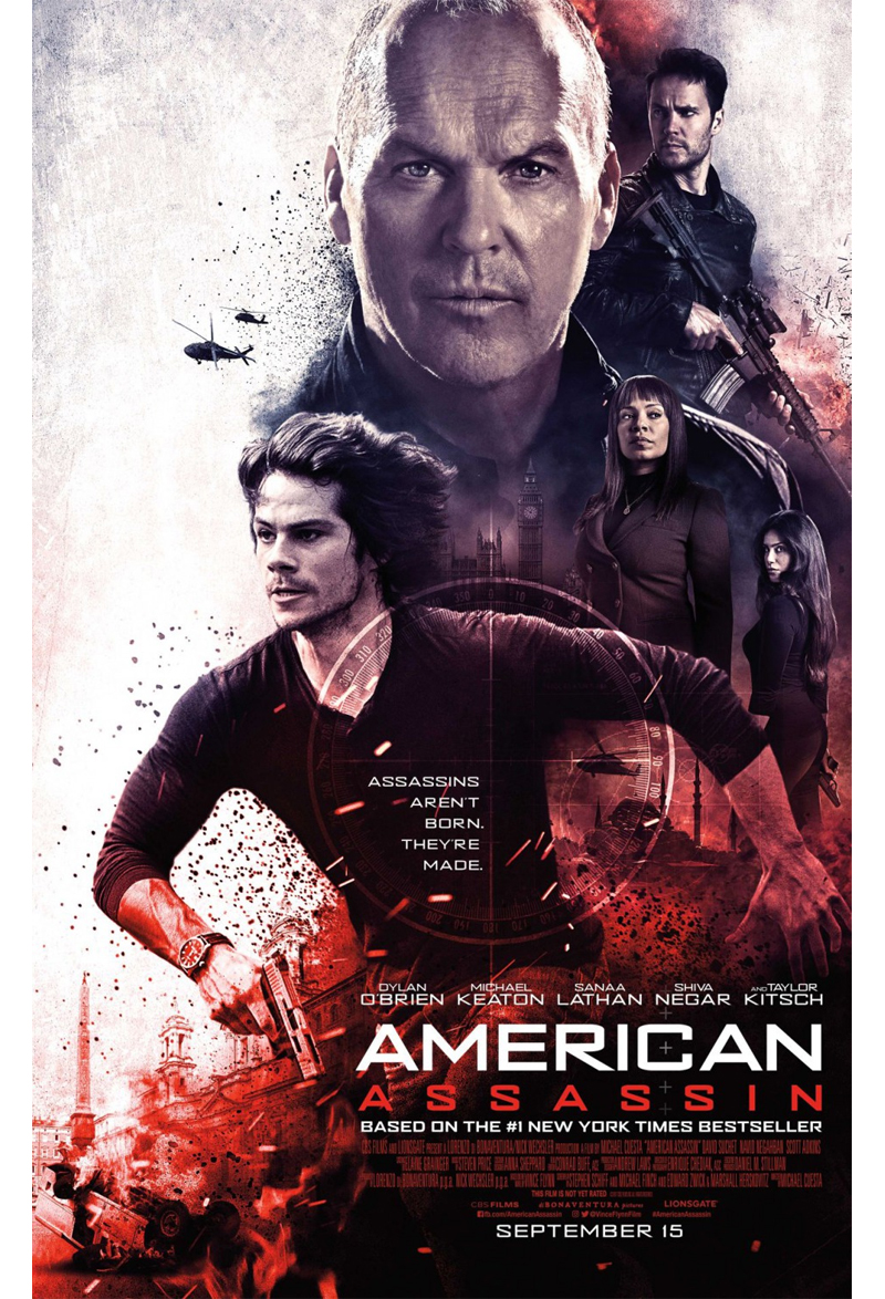 American Assassin kapak