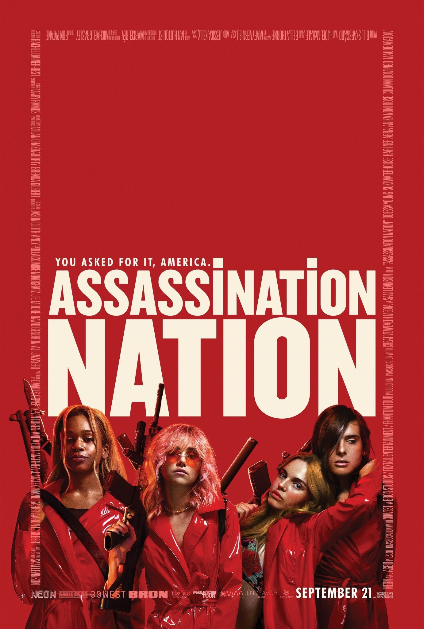 Assassination Nation kapak