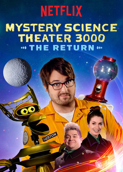 Mystery Science Theater 3000: The Return kapak