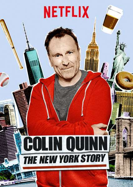 Colin Quinn: The New York Story kapak