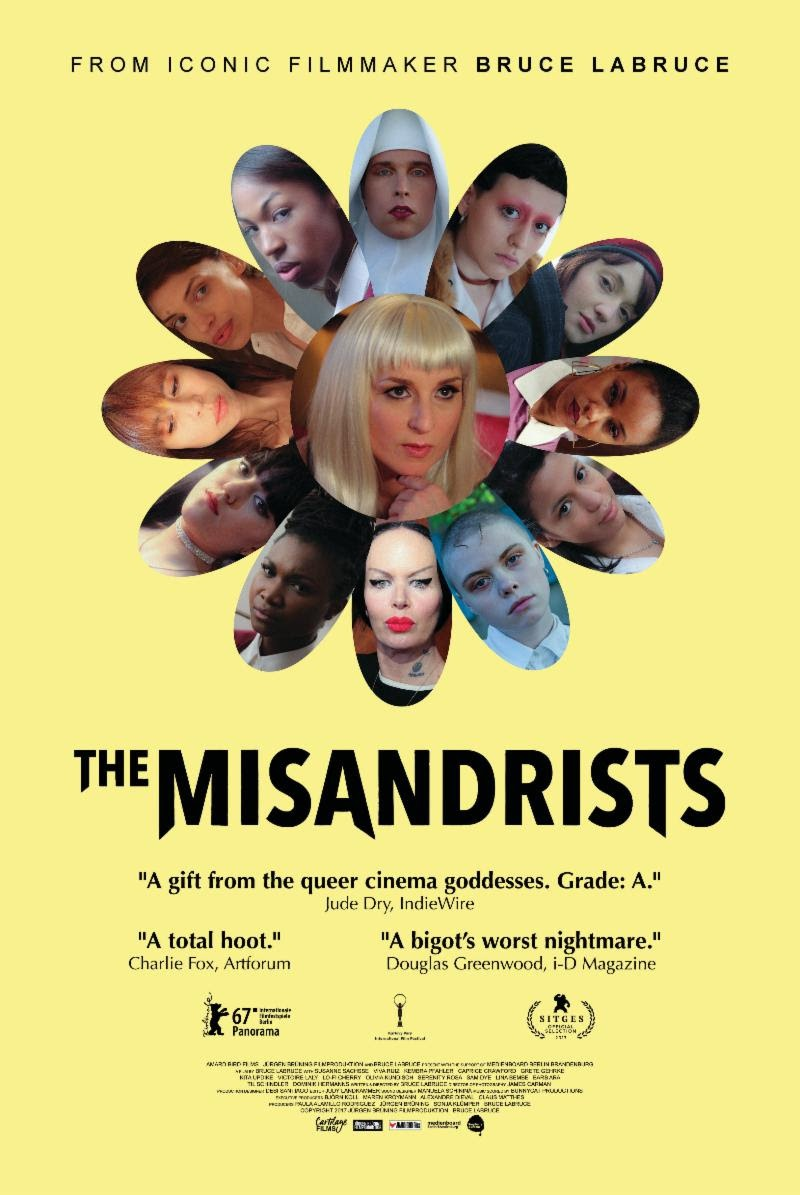 The Misandrists kapak