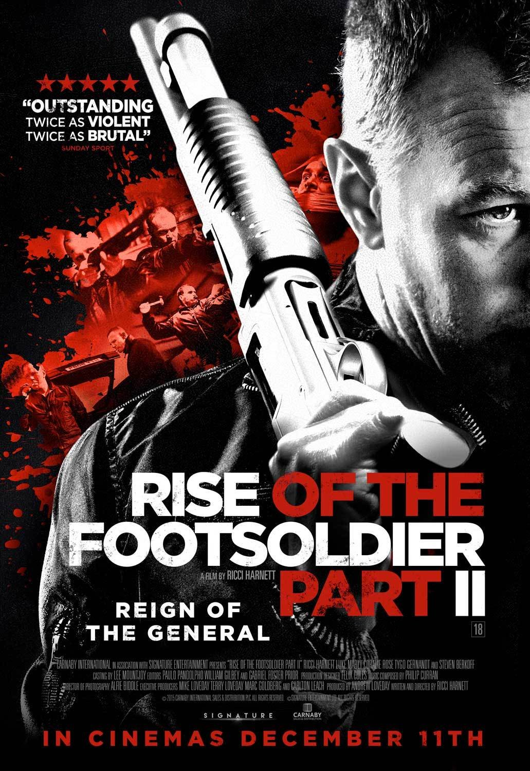 Rise of the Footsoldier Part II kapak