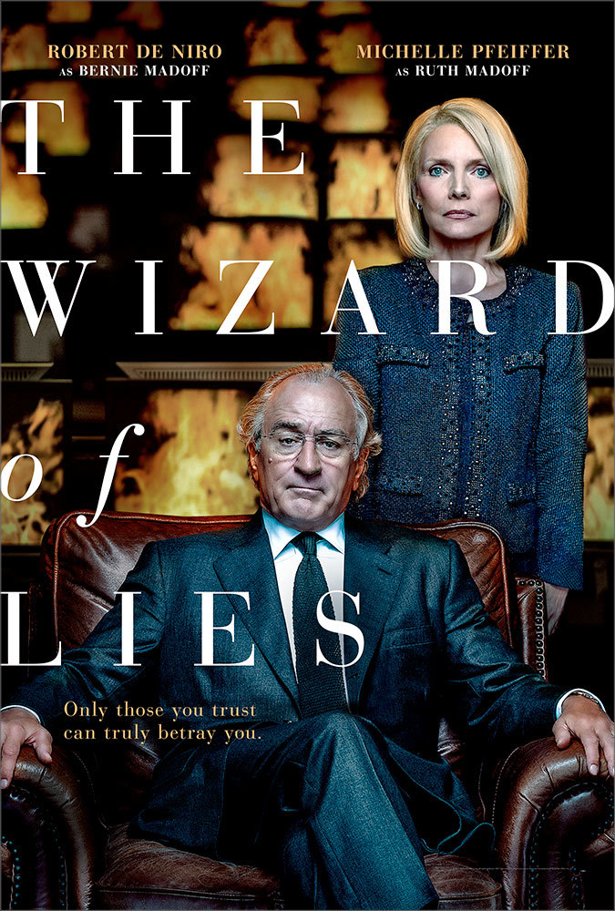 The Wizard of Lies kapak