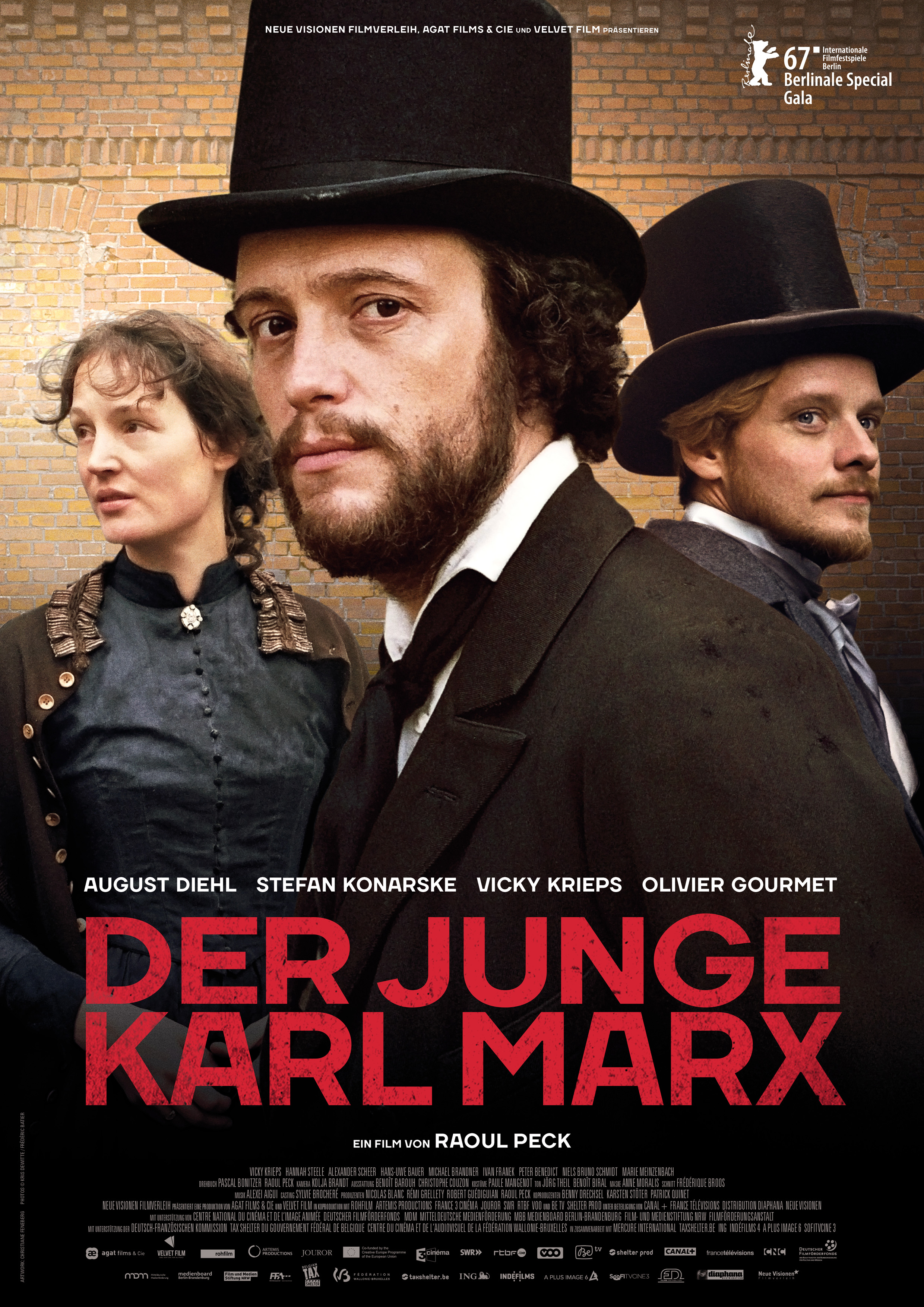 Le jeune Karl Marx kapak