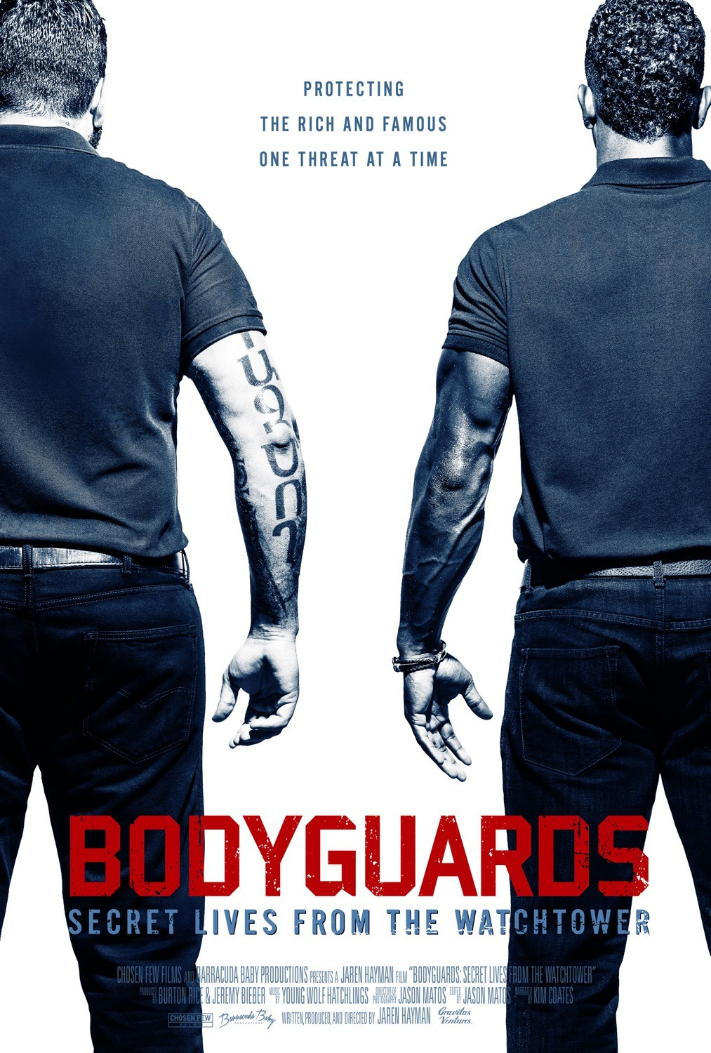 Bodyguards: Secret Lives from the Watchtower kapak