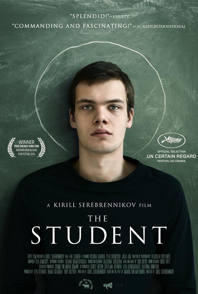 The Student kapak