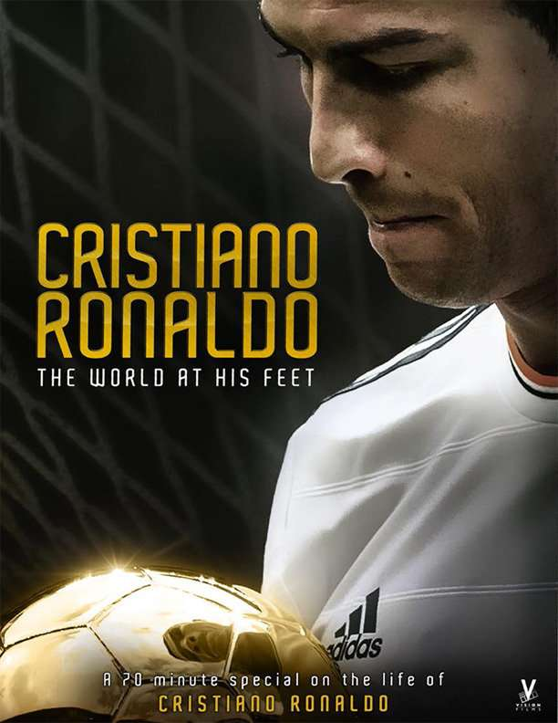 Cristiano Ronaldo: World at His Feet kapak