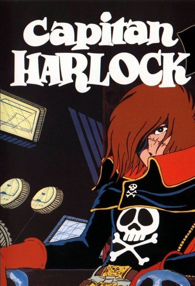 Space Pirate Captain Harlock kapak