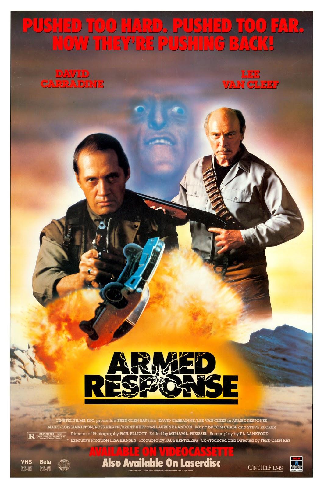 Armed Response kapak