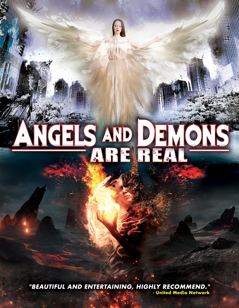 Angels and Demons Are Real kapak
