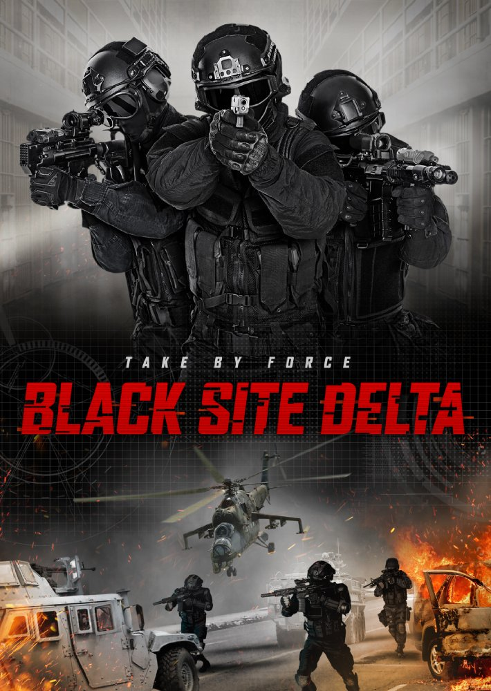 Black Site Delta kapak