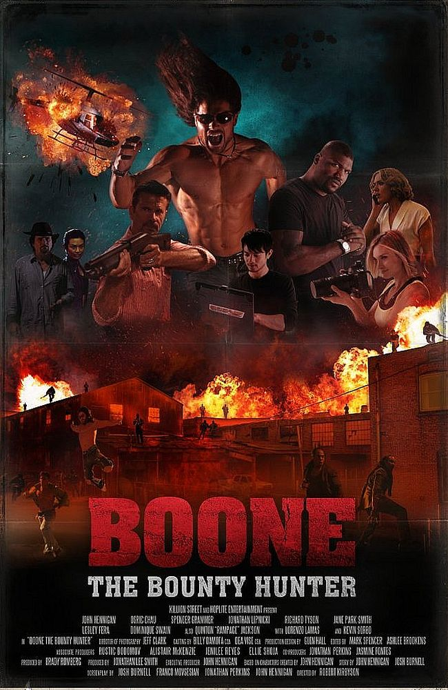 Boone: The Bounty Hunter kapak