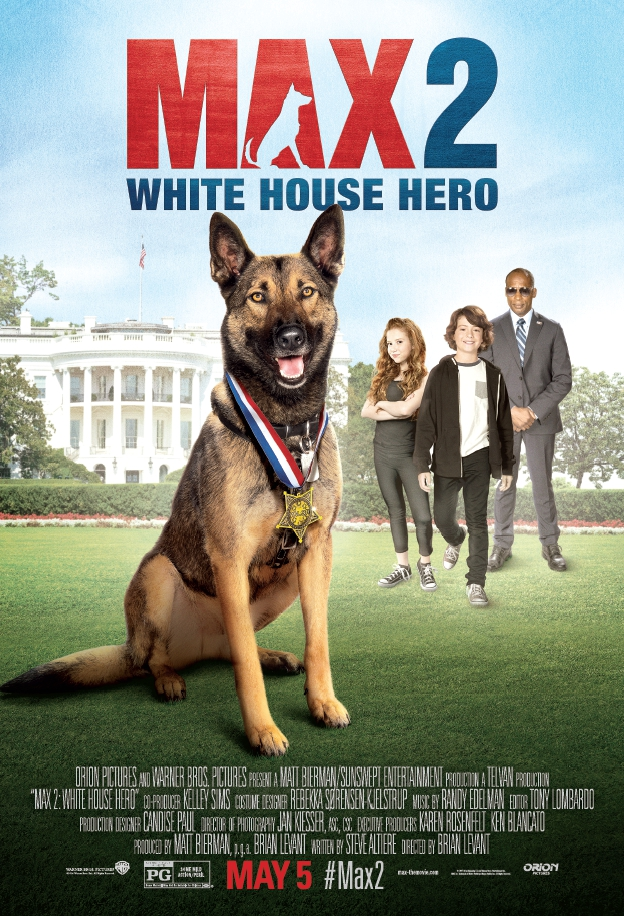 Max 2: White House Hero kapak
