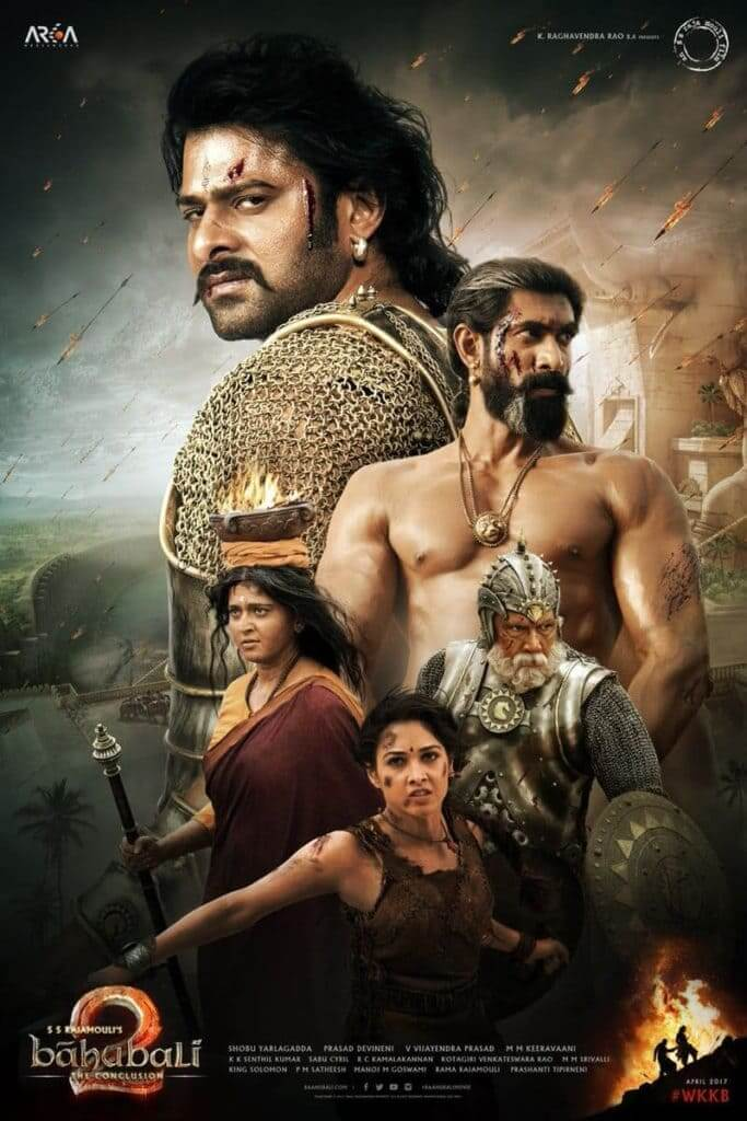 Baahubali 2: The Conclusion kapak