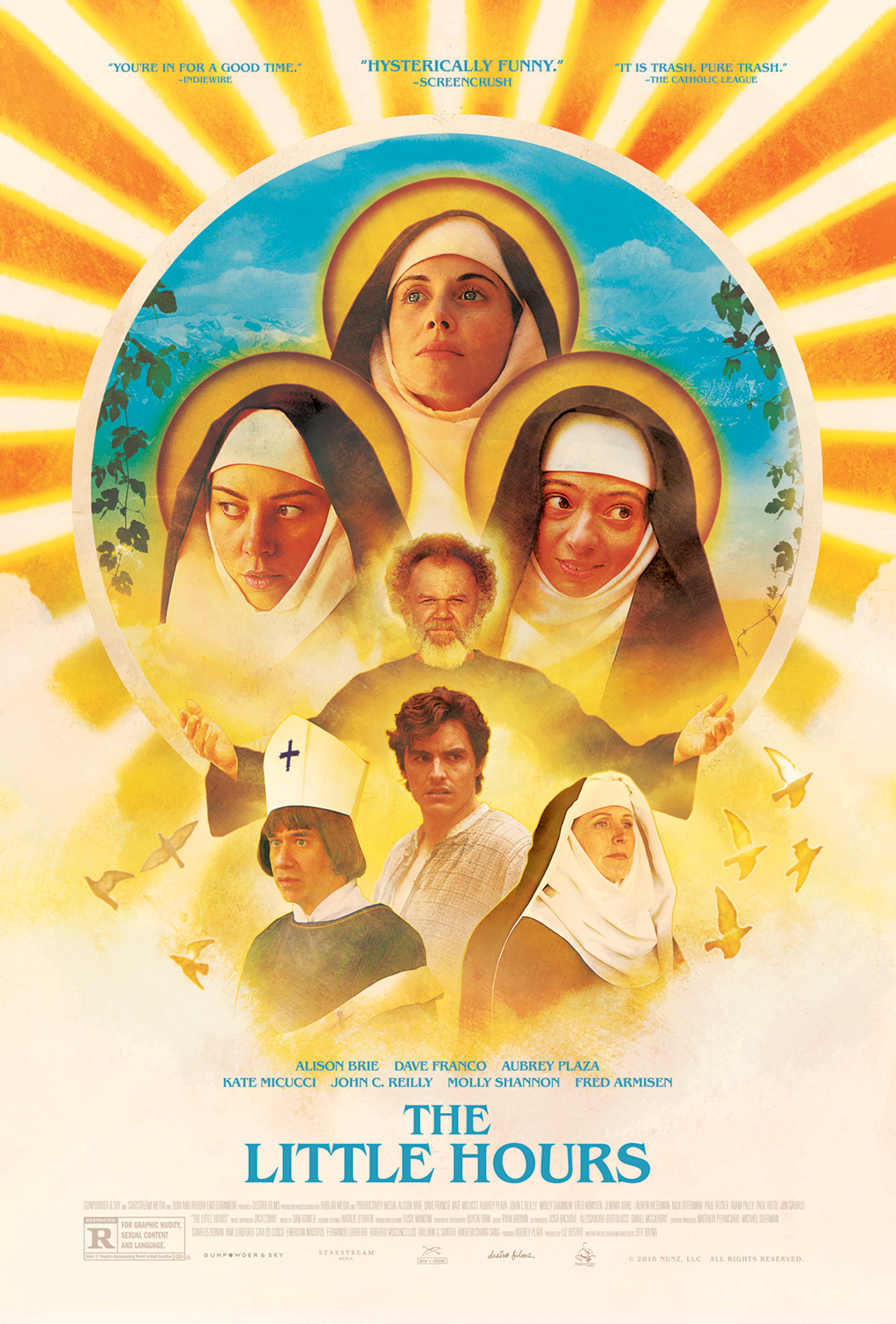 The Little Hours kapak