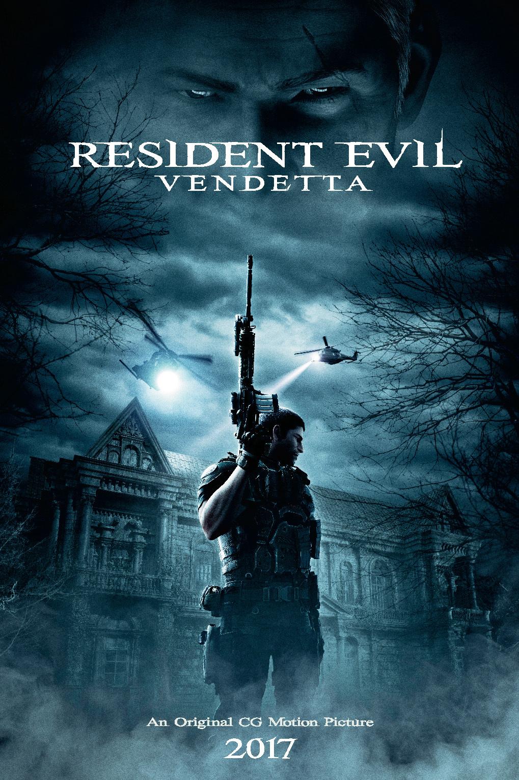 Resident Evil: Vendetta kapak