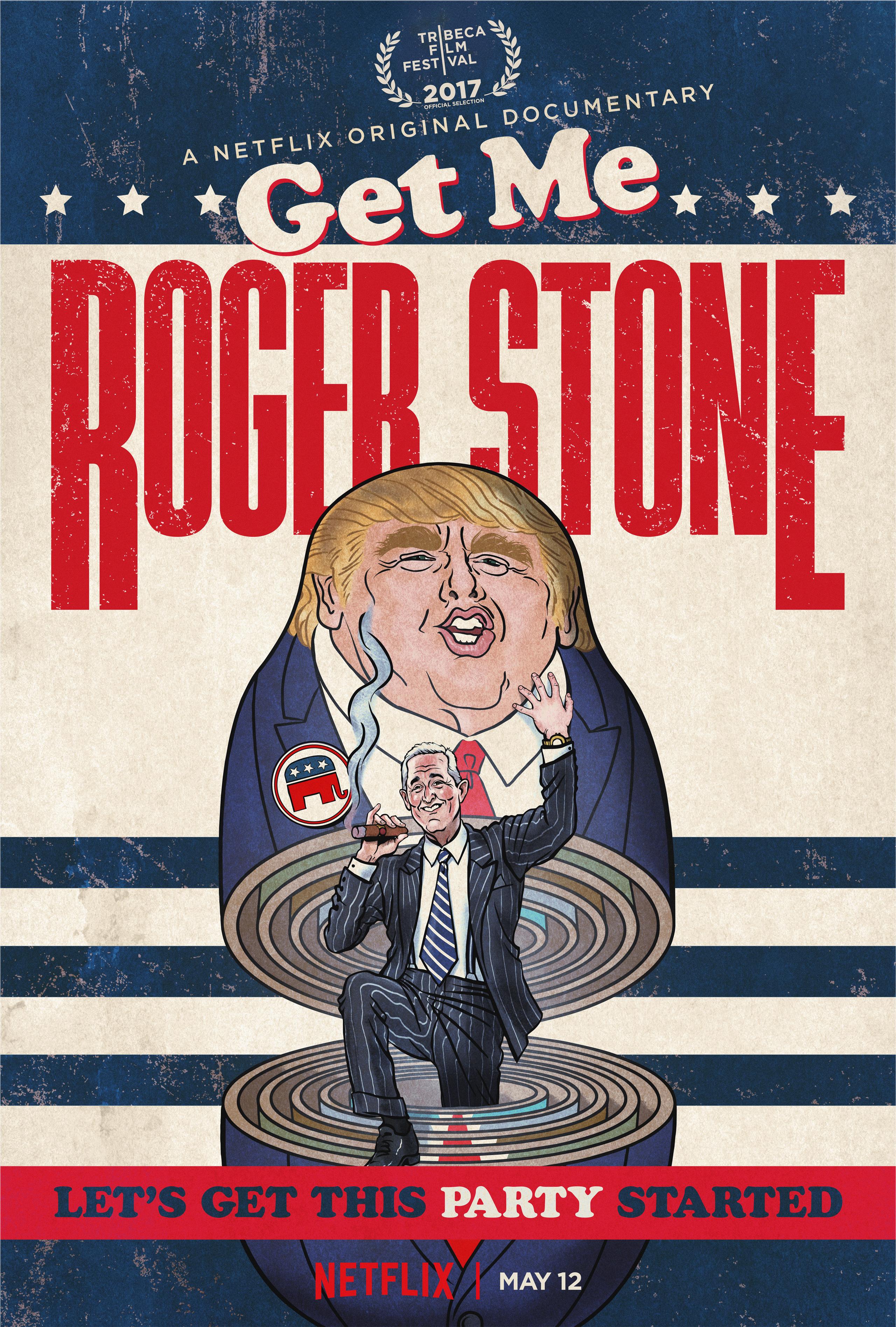 Get Me Roger Stone kapak