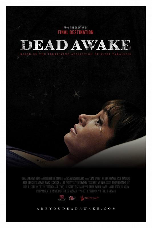 Dead Awake kapak