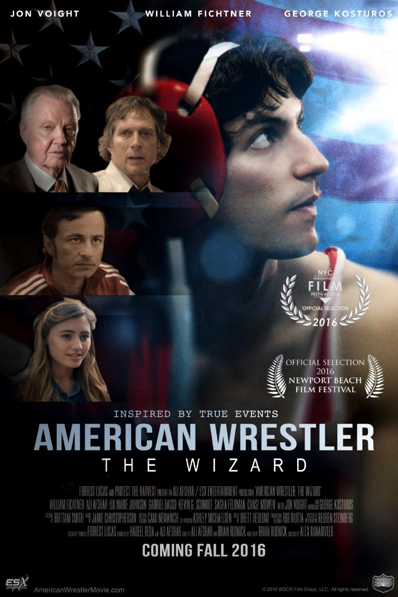 American Wrestler: The Wizard kapak