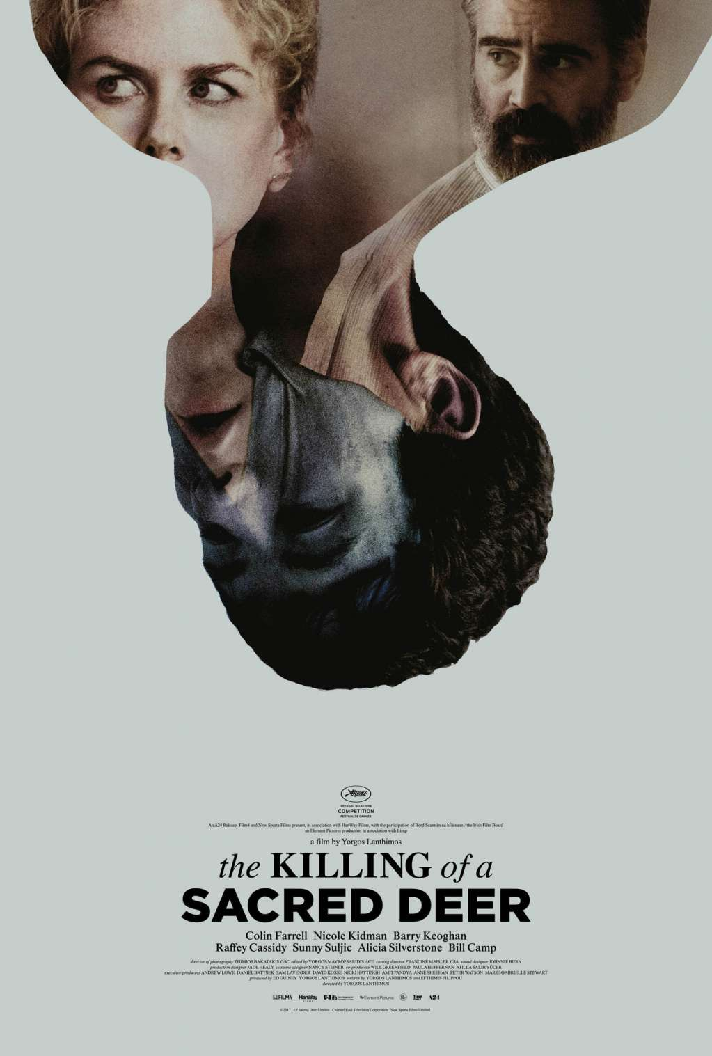 The Killing of a Sacred Deer kapak