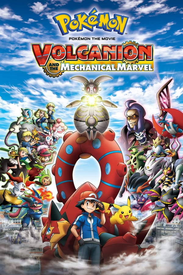 Pokémon the Movie: Volcanion and the Mechanical Marvel kapak