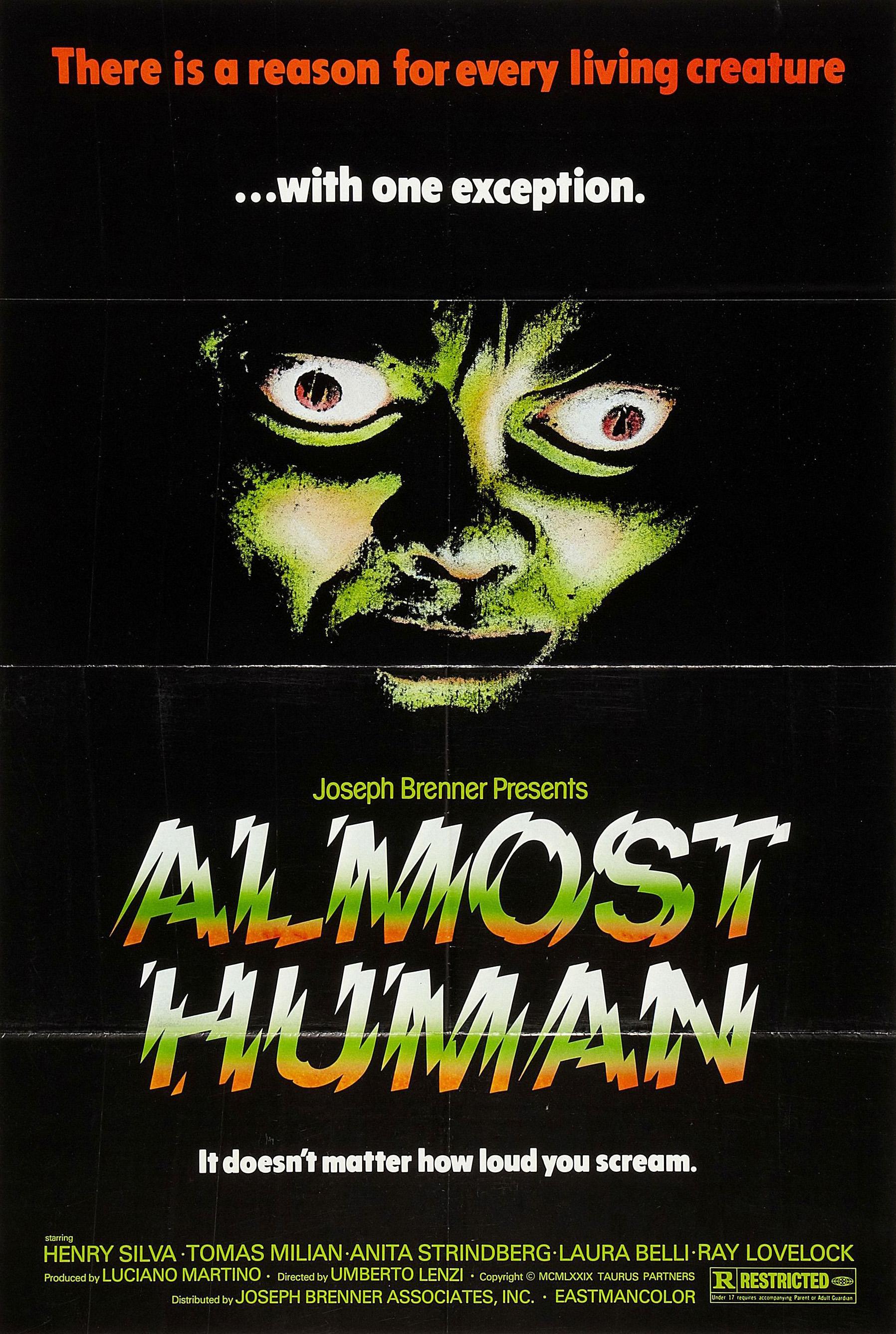 Almost Human kapak
