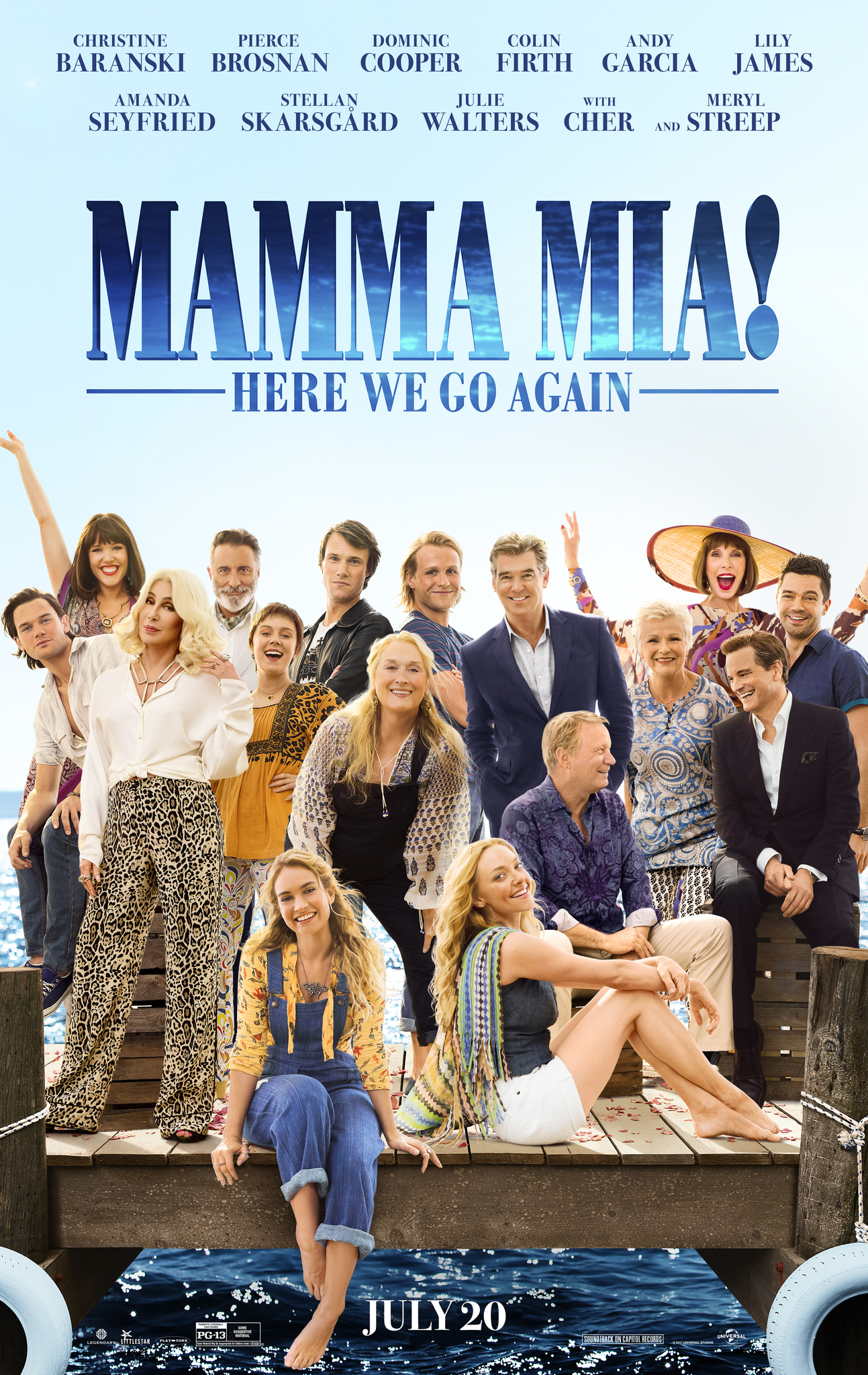 Mamma Mia! Here We Go Again kapak