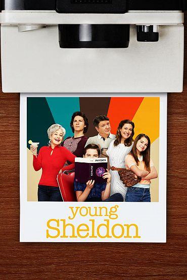 Young Sheldon kapak