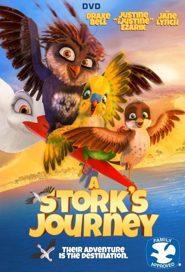 A Stork's Journey kapak