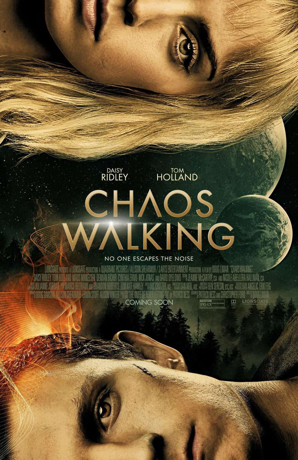 Chaos Walking kapak