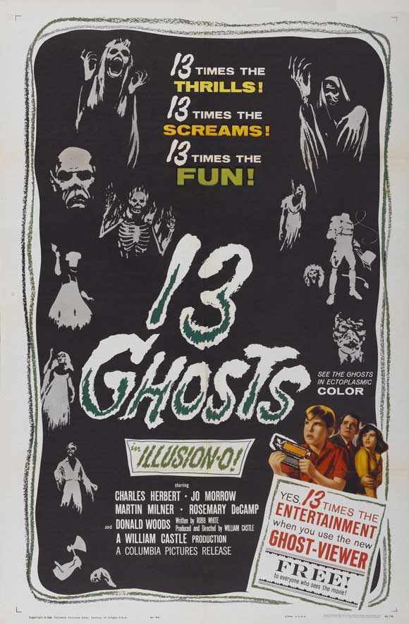 13 Ghosts kapak