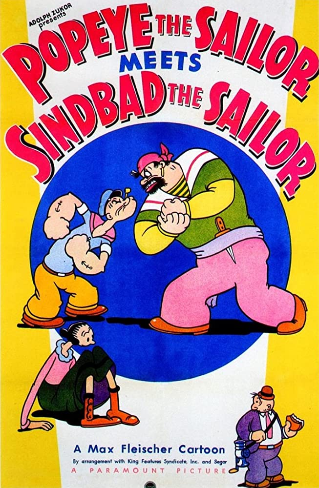 Popeye the Sailor Meets Sindbad the Sailor kapak
