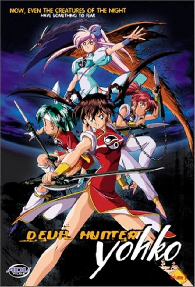 Devil Hunter Yohko kapak