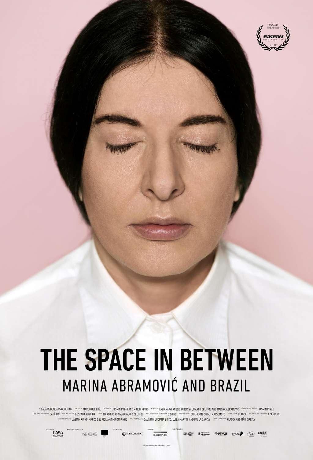 Marina Abramovic In Brazil: The Space In Between kapak