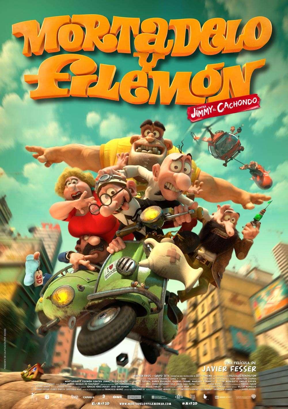 Mortadelo and Filemon: Mission Implausible kapak