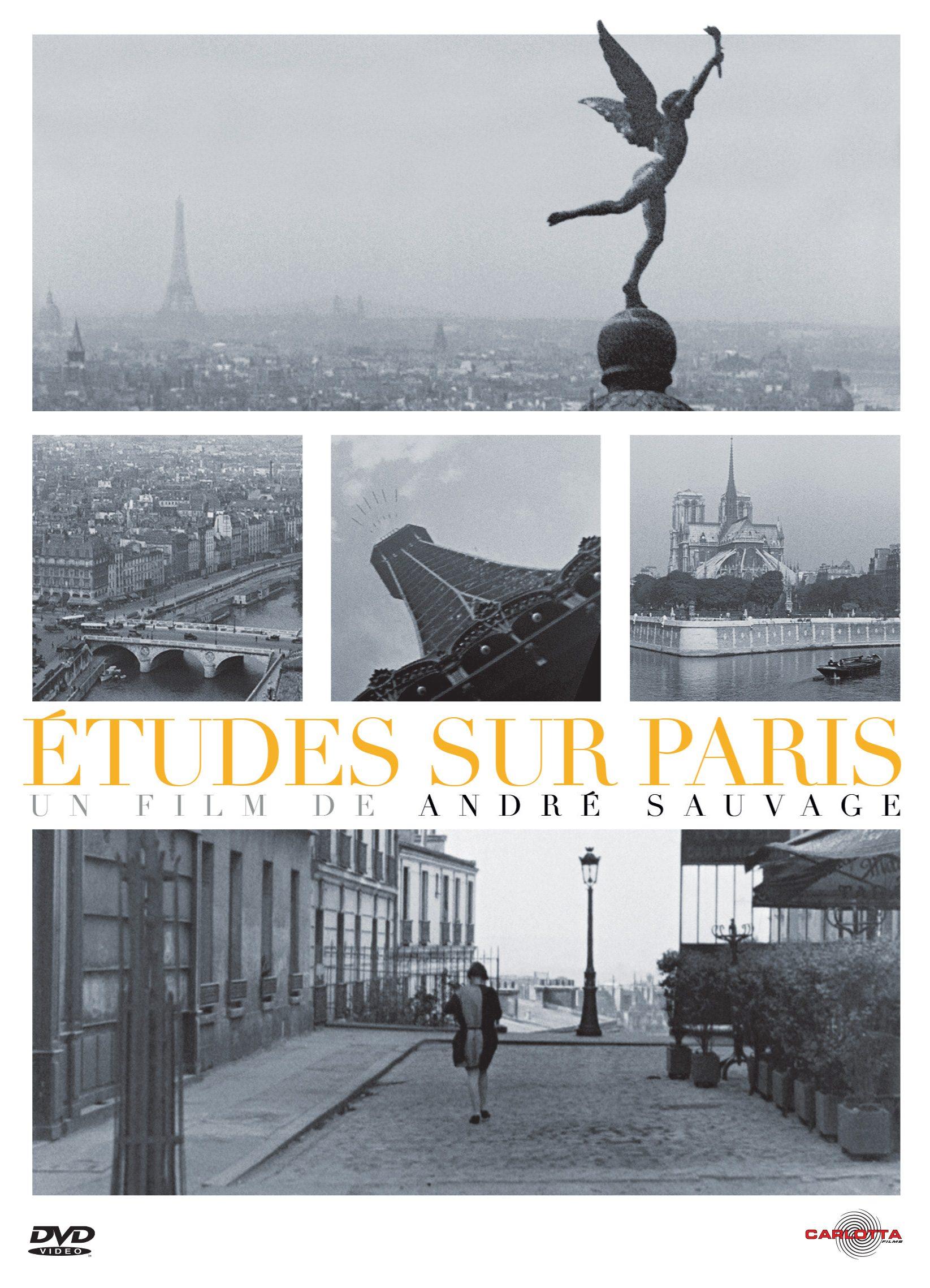 Études sur Paris kapak