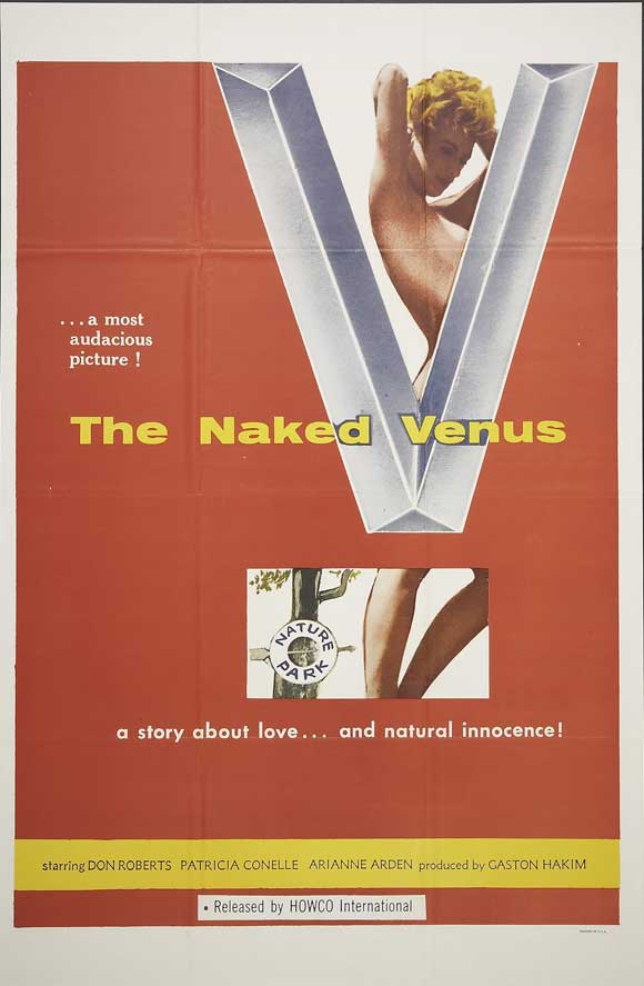 The Naked Venus kapak