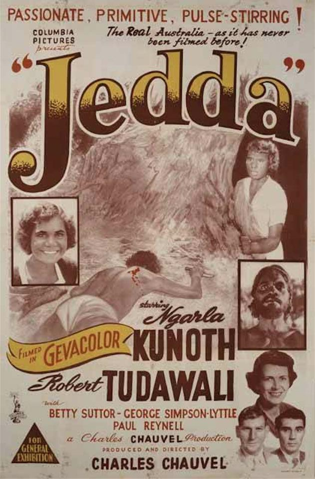 Jedda the Uncivilized kapak