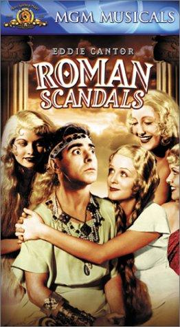 Roman Scandals kapak