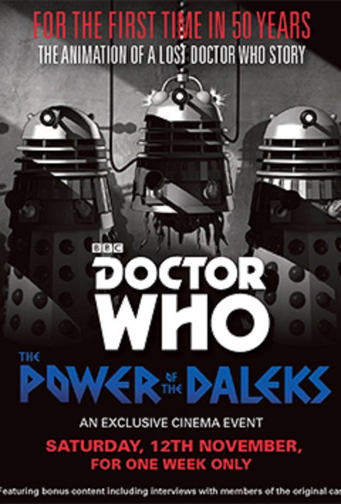 Doctor Who: The Power of the Daleks kapak