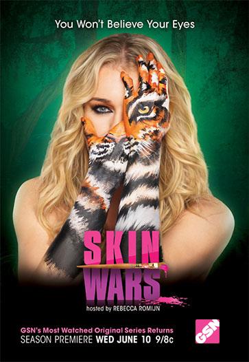 Skin Wars kapak