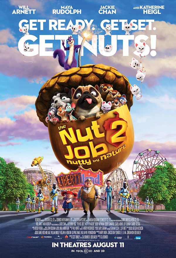 The Nut Job 2: Nutty by Nature kapak