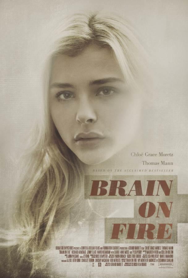 Brain on Fire kapak