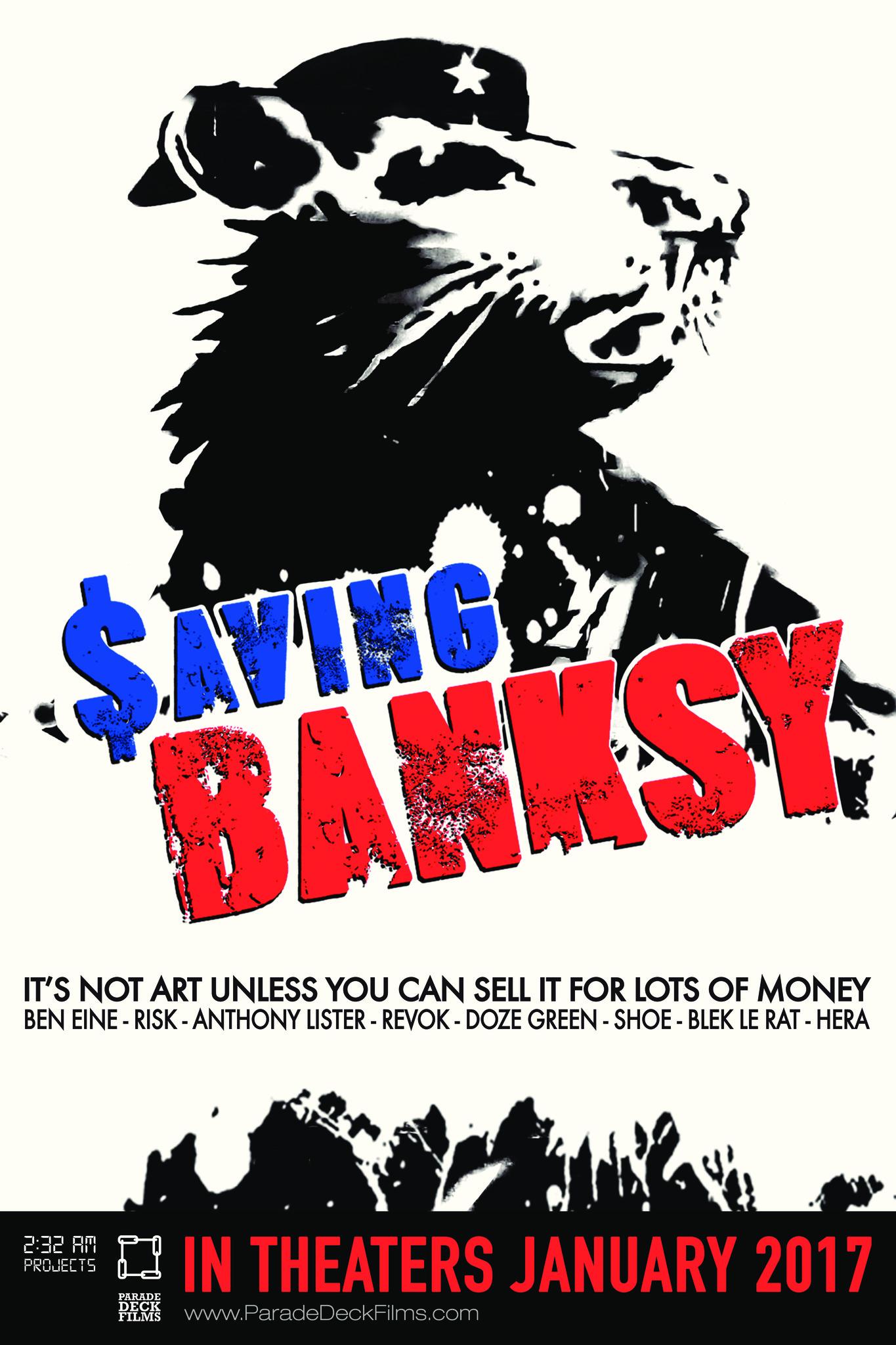 Saving Banksy kapak