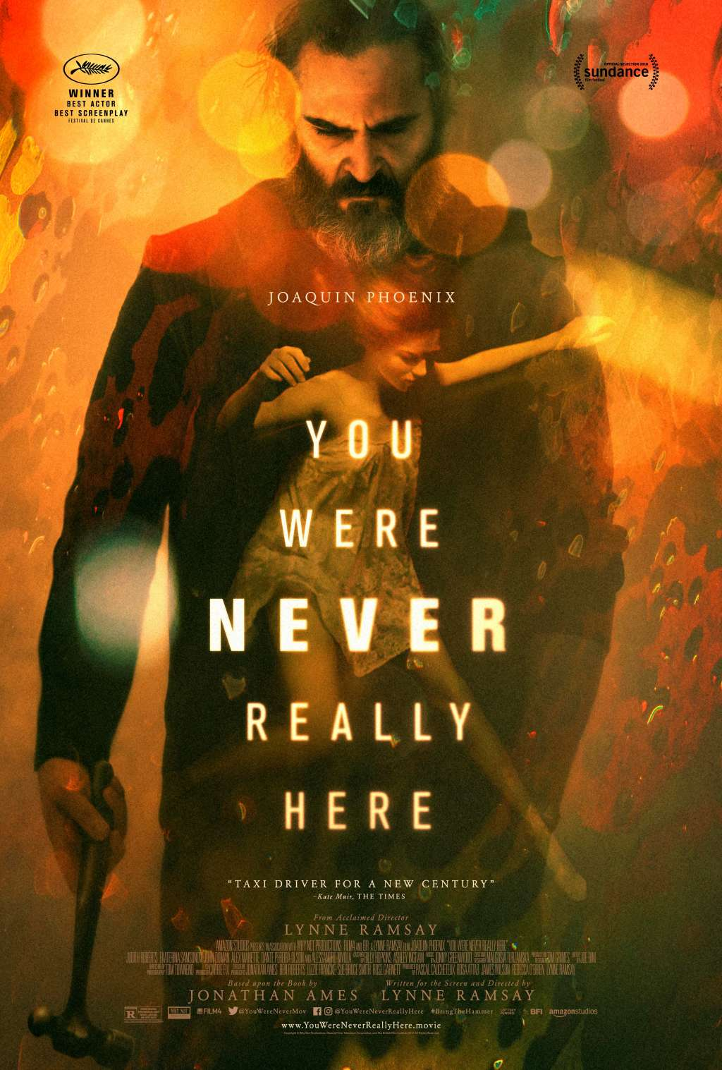 You Were Never Really Here kapak