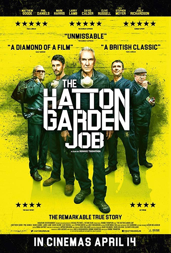 The Hatton Garden Job kapak