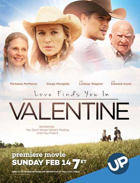 Love Finds You in Valentine kapak
