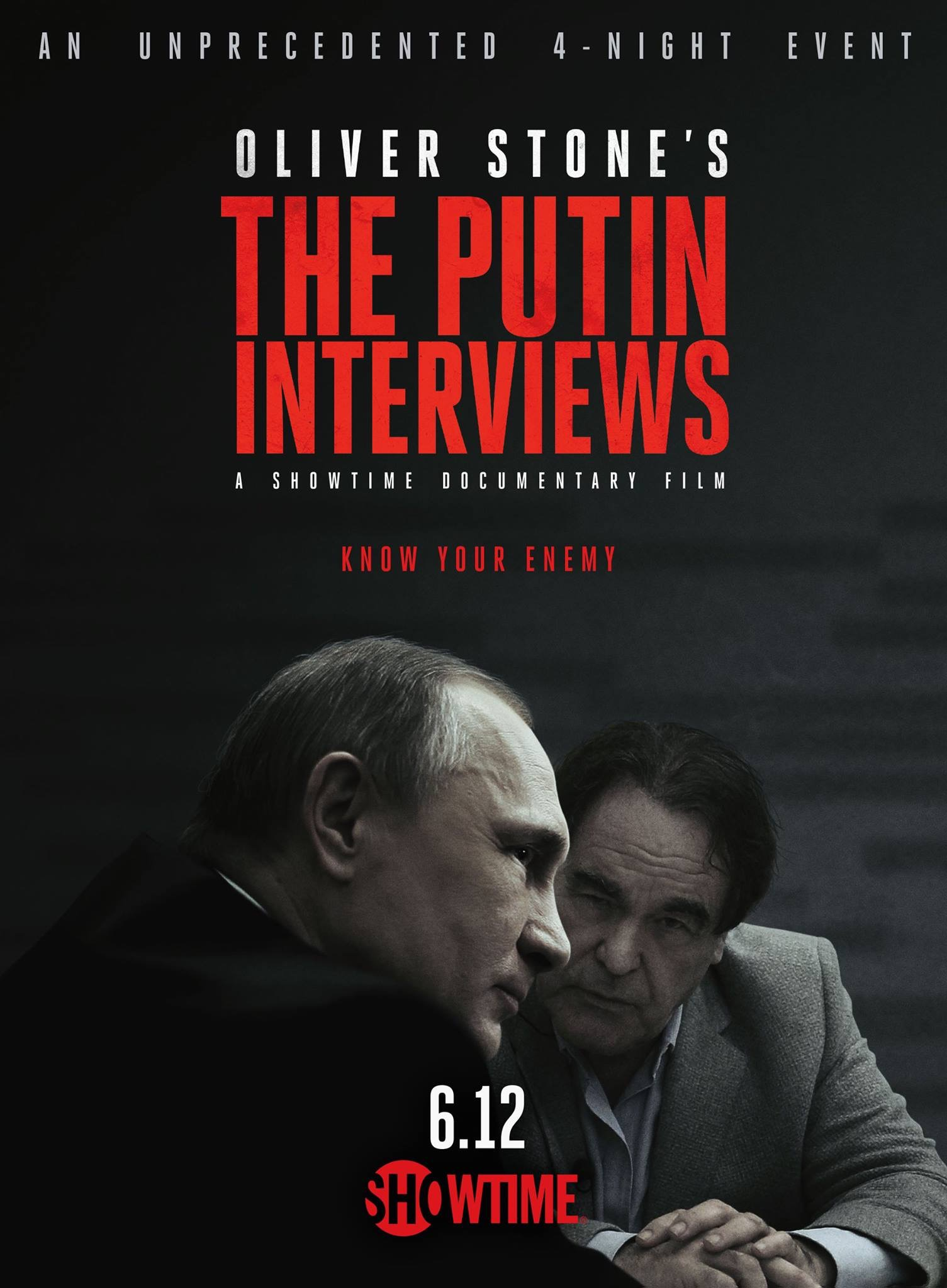 The Putin Interviews kapak