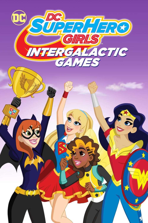 DC Super Hero Girls: Intergalactic Games kapak