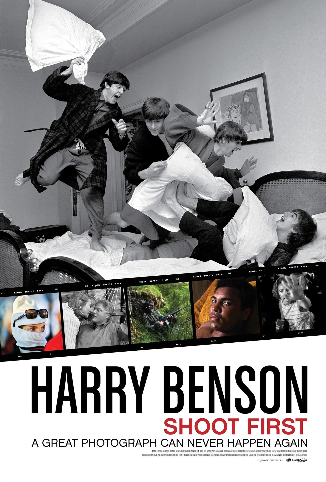 Harry Benson: Shoot First kapak